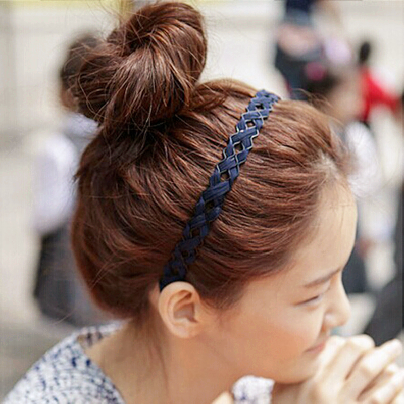 1 Pcs Female Women Lady Girls Sexy Cloth art hollow wire braiding Hairbands Headbands Headwear Hair Hoop Party Hair Accessories