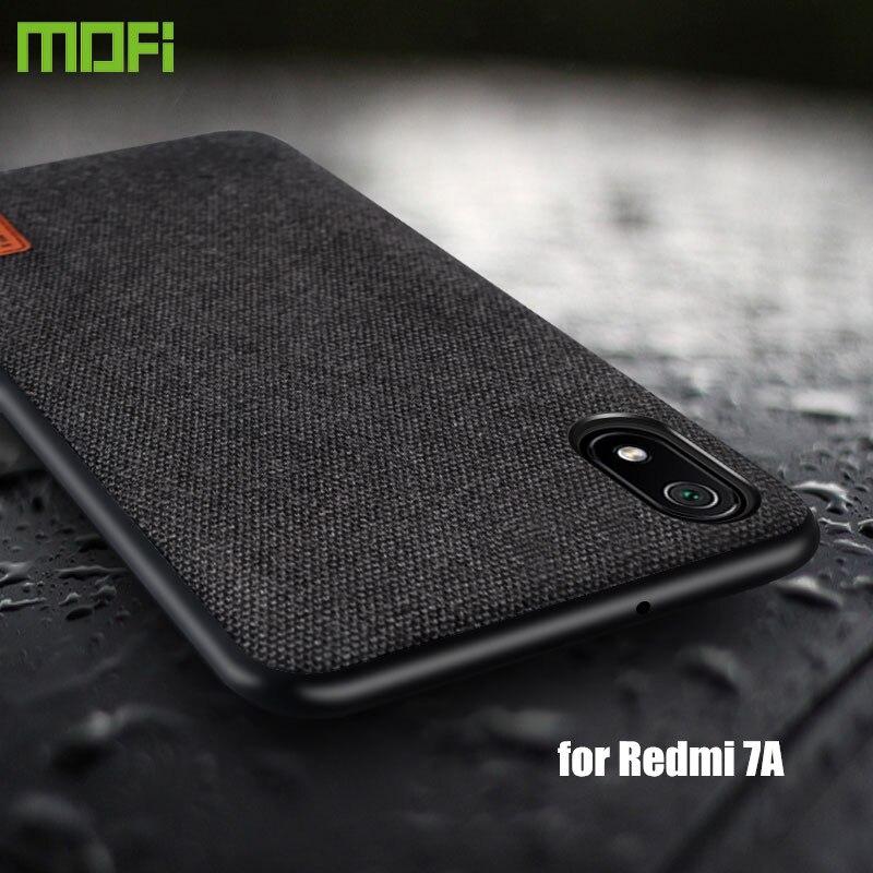 for Xiaomi Redmi 7A case protective cover MOFi original redmi 7 A fabric cloth shockproof capas funda Redmi7A back case
