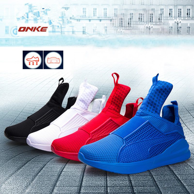 Hot sale Brand Running Shoes For Man Cushioned Breathable Outdoor Shoes Sneakers Athletic Male Sports Sneakers zapatillas deport