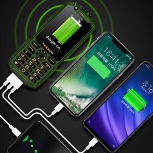 "Image 5 - WCDMA 3G mobile phone 3.0"" touch screen Power Bank Wifi Push button Dual SIM Dual Flashlight loud Speaker cellphone russian key"