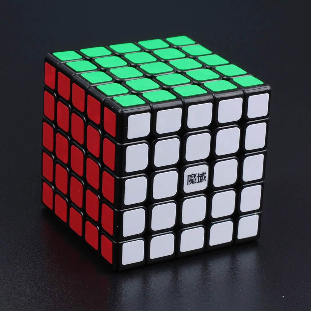 Moyu Huachuang noir 5*5*5 Cubes magiques Puzzle Speed Cube jouets éducatifs cadeaux pour enfants enfants