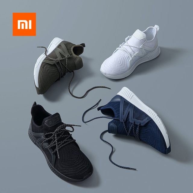 Xiaomi 90 Fun One Woven Fabric Sports Shoes 12PCS Fly Lines Wraps TCP Surround Men Women Breathable Casual Sneaker Smart Home