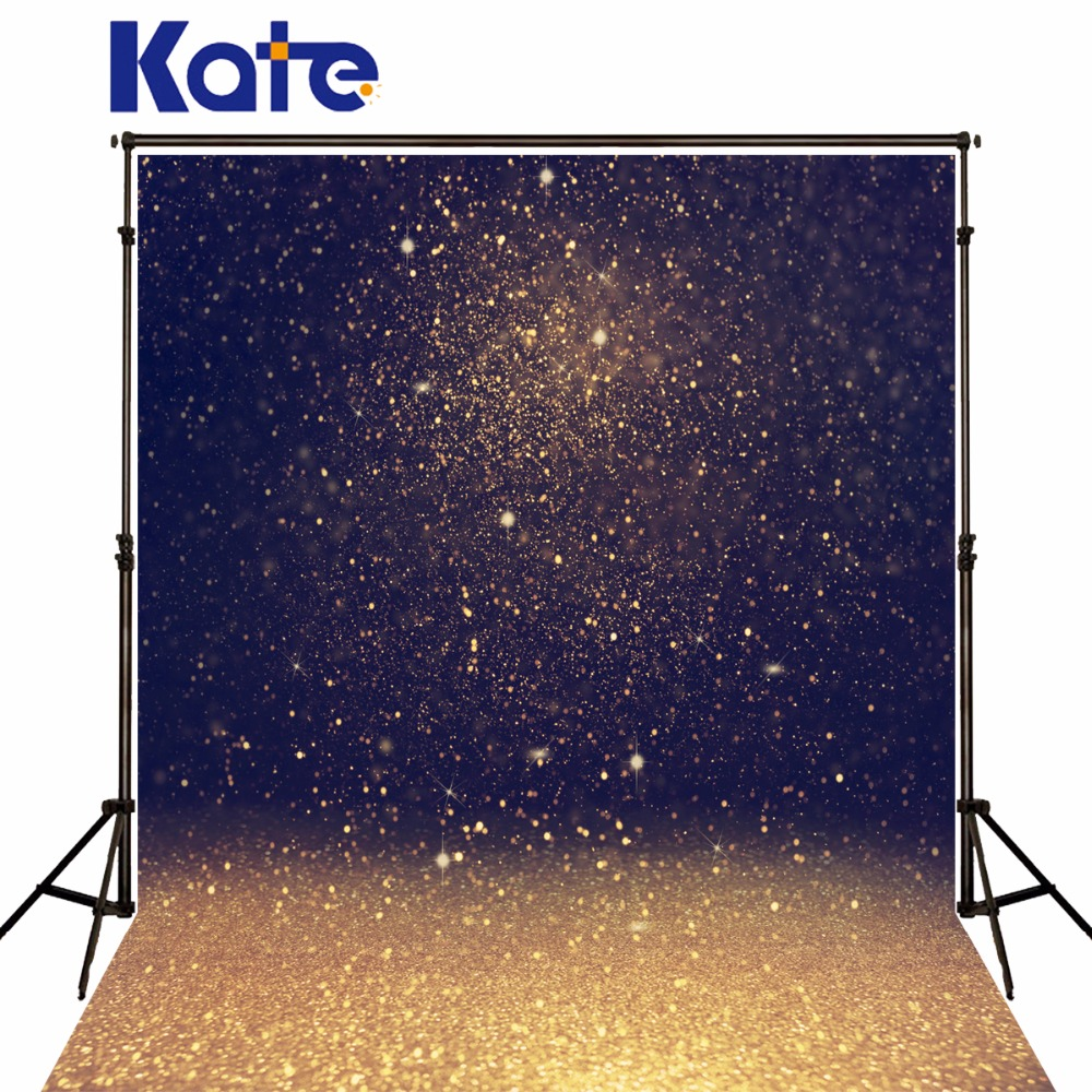 Kate Christmas Backdrop Photography Abstract Gold Spot Dream Fundo Fotografico Bokeh Lighting Night Background For Photo Studio kate photo background dream field