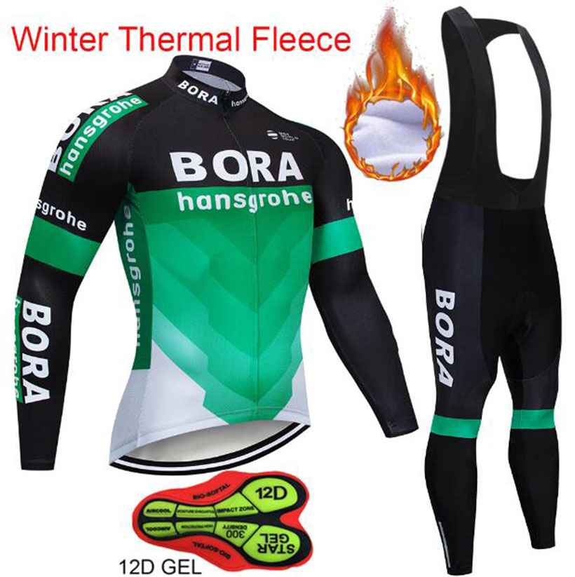 2018 Winter Fleece Thermal Cycling Team Bora Cycling Jersey Wear Clothing Maillot Ropa Ciclismo Mtb Bike Bicycle Long Clothing super bright portable 1000lm xml t6 camouflage headlight headlamp 3 modes for camping hiking