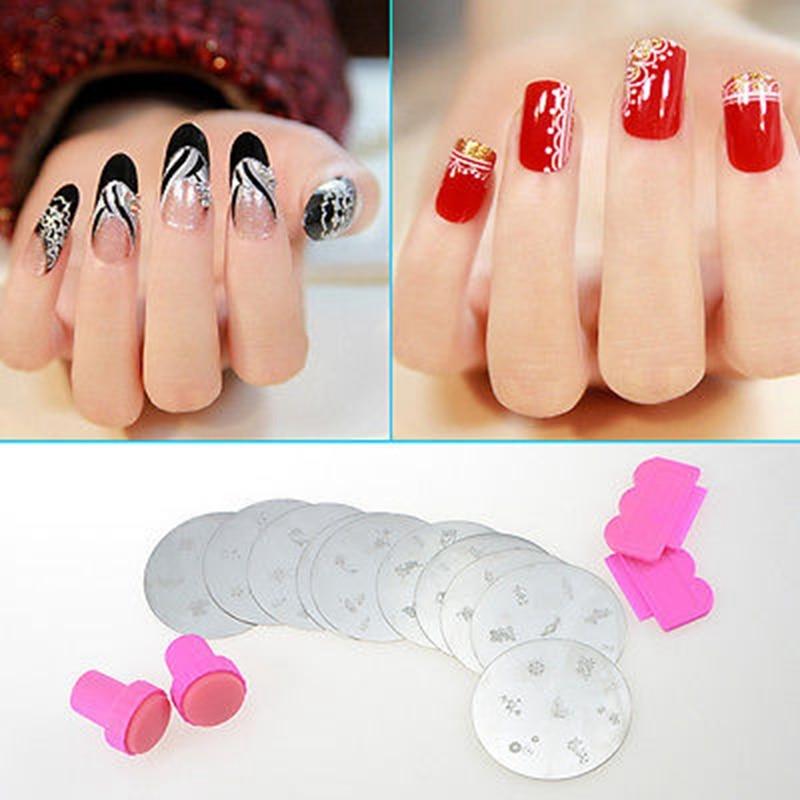 Aliexpress Fairyglo Nail Art Ster Stickers 1 Set Diy Design Ser Konad Image Sting Polish St Tools Kits From