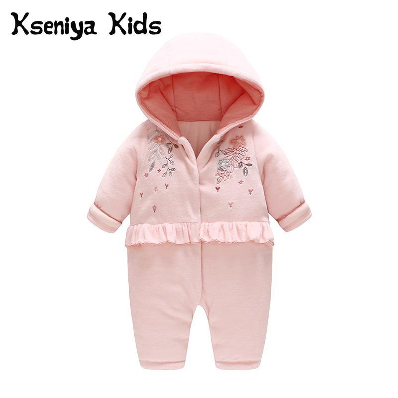 11d774c9c Kseniya kids 2018 new autumn winter warm clothes newborn baby girl ...