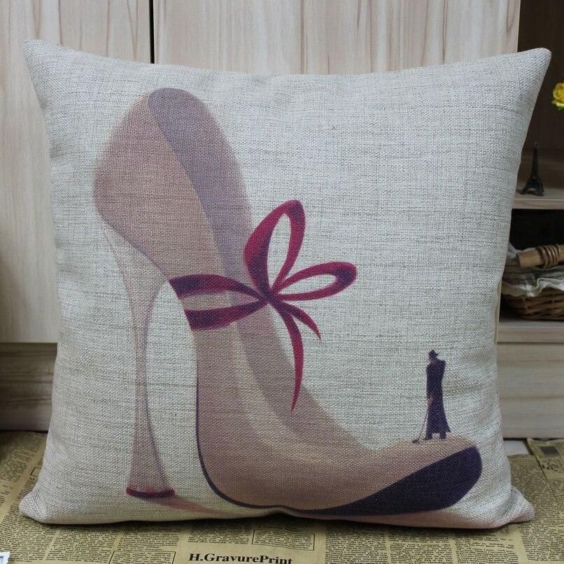 Linkwell бесплатная доставка современные бежевый цвет высок-пятки белье чехлы модные шаблон