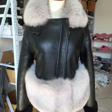 7 Colors Autumn Winter Warm Real Fur Coat Women With