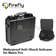 Hardshell Luggage Waterproof Anti-Shock Suitcase Strong Box for DJI Mavic Pro Quadcopter