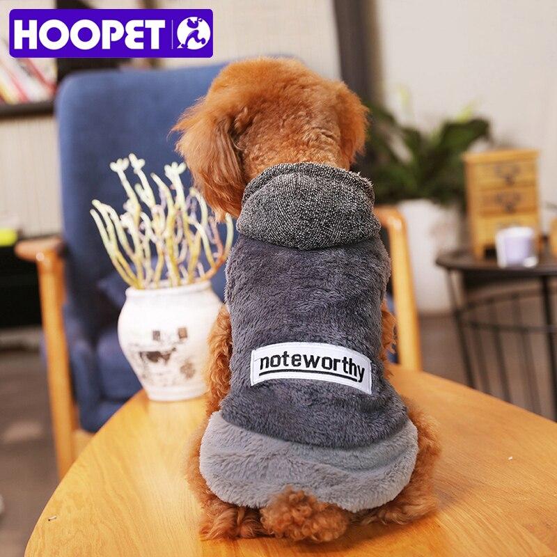 HOOPET Herbst/Winter Warm Hund Kleidung Für Kleine Hunde Weiche Winter Pet Kleidung Für Chihuahua Kostüme