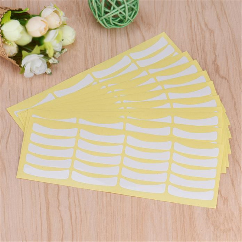 Cool! approx 4 x 0.9cm / 1.57 x 0.35 inch 100 Pairs Under Eye Pads Stickers Patches For Eyelash Extensions Makeup Tool Anne