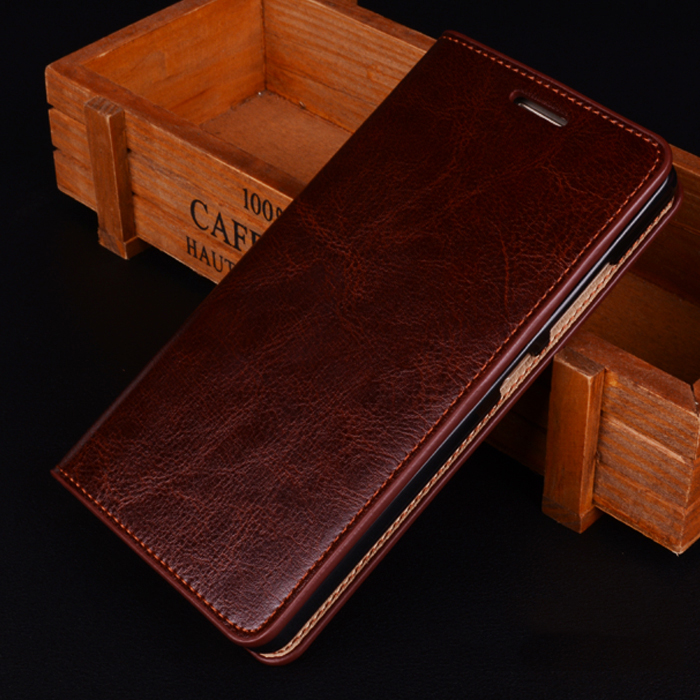 Aimak Brand 100% Genuine Vintage Leather Flip Stand Case For Meizu M2 M3 Note Note 2 3 Note2 Note3 5.5'' Phone Cover