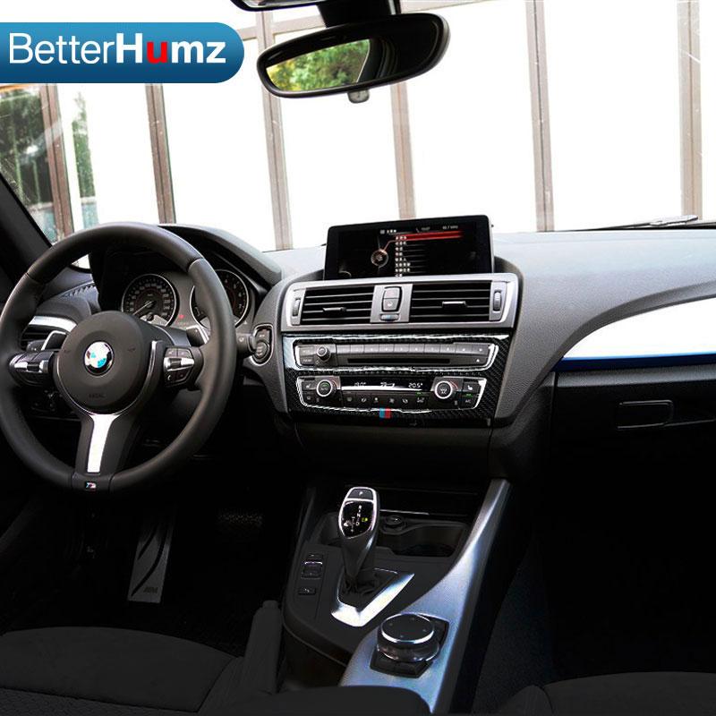 For Bmw F20 F21 Carbon Fiber Car Interior Air Conditioning Cd