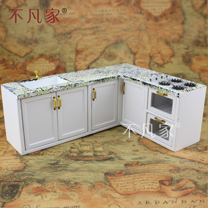 Dollhouse Kitchen Sink Dollhouses 112 scale miniature furniture white kitchen sink set dollhouses 112 scale miniature furniture white kitchen sink set marble texture in furniture toys from toys hobbies on aliexpress alibaba group workwithnaturefo