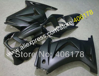 Hot Sales,08 09 10 11 12 Ninja 250R fairing For Kawasaki ZX250R 2008 2012 Full black Motorcycle Fairings (Injection molding)