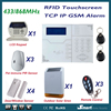 2015 Most Advanced TCP IP GPRS Wireless GSM Alarm System Home Intruder Burglar Security Alarm System