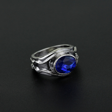 MQCHUN Vilya Elrond Gil-galad Ring of Air jewelry elf Three Rings fashion movie jewelry