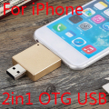 1 Year Warranty+Real Capacity For Iphone 6s/6/5/Ipad/Ipod, 32GB 64GB 128GB 256GB OTG USB Flash Drive Pendrive Flash Memory Card