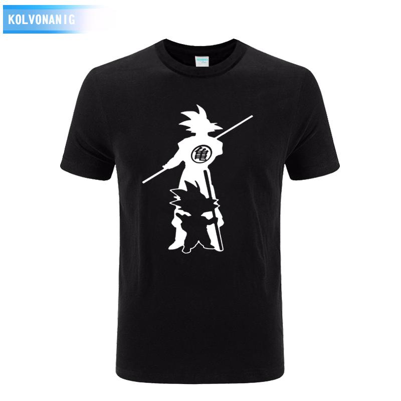 Dragon Ball Z Goku Print T Shirt