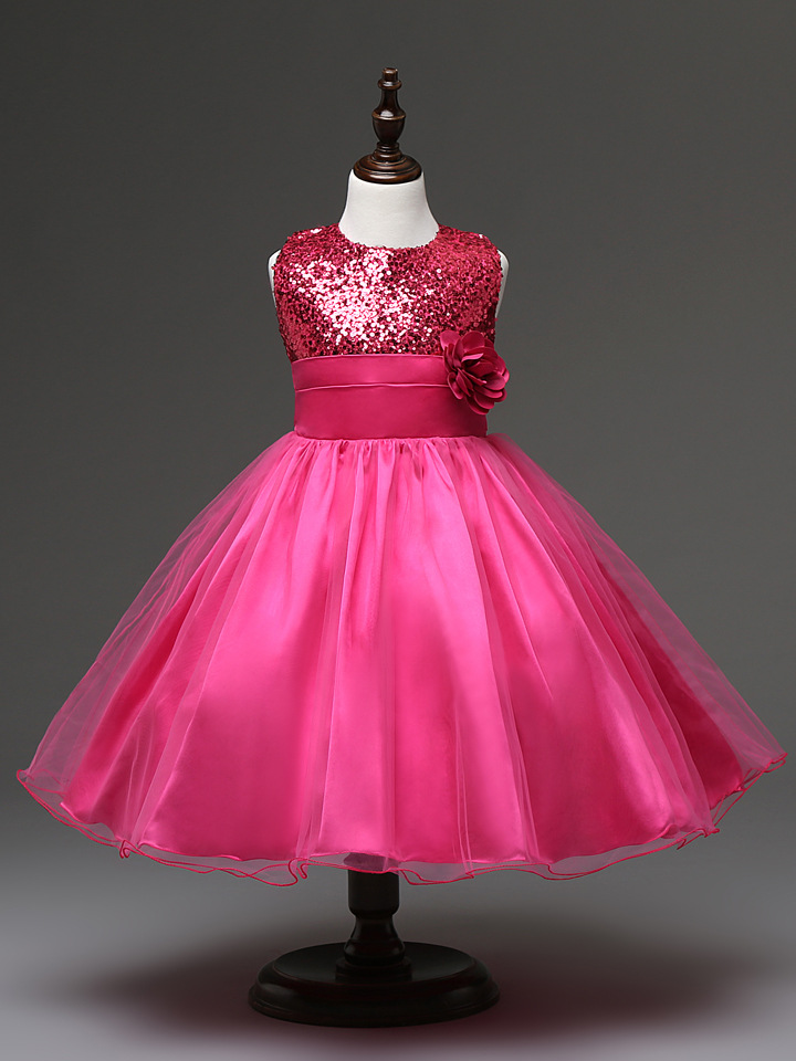 7 Colors Available Flower Girl Lolita Dresses Baby Wedding Party ...