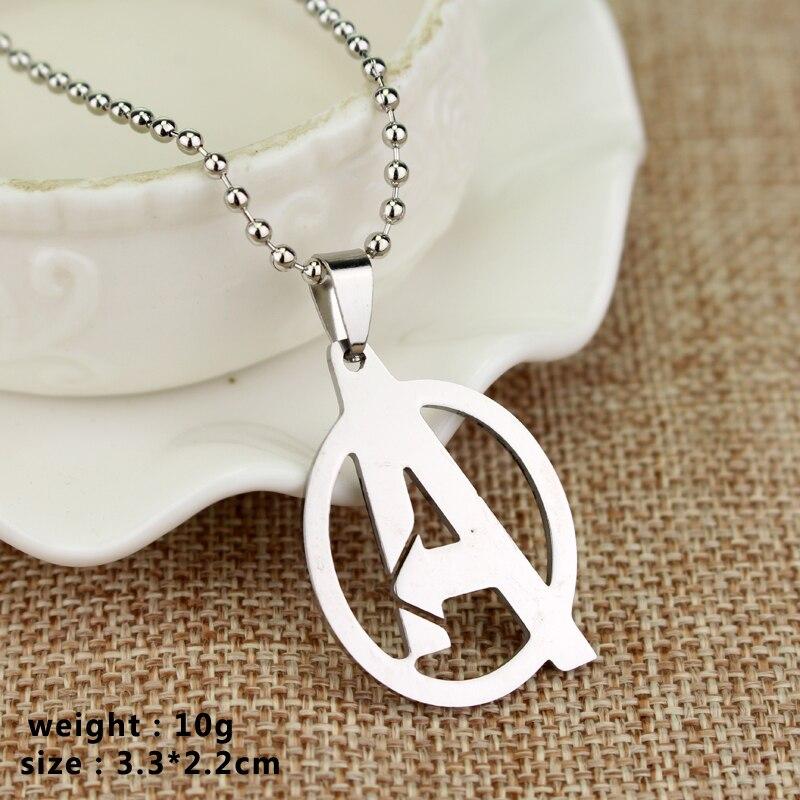RJ joyería de moda Simple The Avengers 3 collares de alta calidad - Bisutería - foto 5