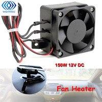 150W 12V DC PTC Fan Heater Constant Temperature Incubator Black