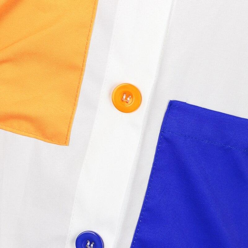 long sleeve shirt dress -12