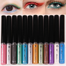 Shiny Colorful Liquid Eyeliner Eye Makeup Cosmetic Long lasting Anti Blooming Foundation Beauty DYY1385