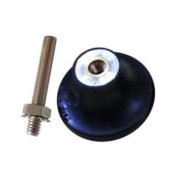 2 pulgadas 50MM titular de la cerradura del rodillo almohadilla del disco de lijado 6MM vástago espiral Pallet Backing Pad herramientas abrasivas y accesorios de amoladora