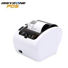 купить Issyzonepos 80mm Thermal Printer Receipt Barcode Auto Cutter Restaurant Mall Kitchen Hotel Monitor Queue Indicator Windows дешево
