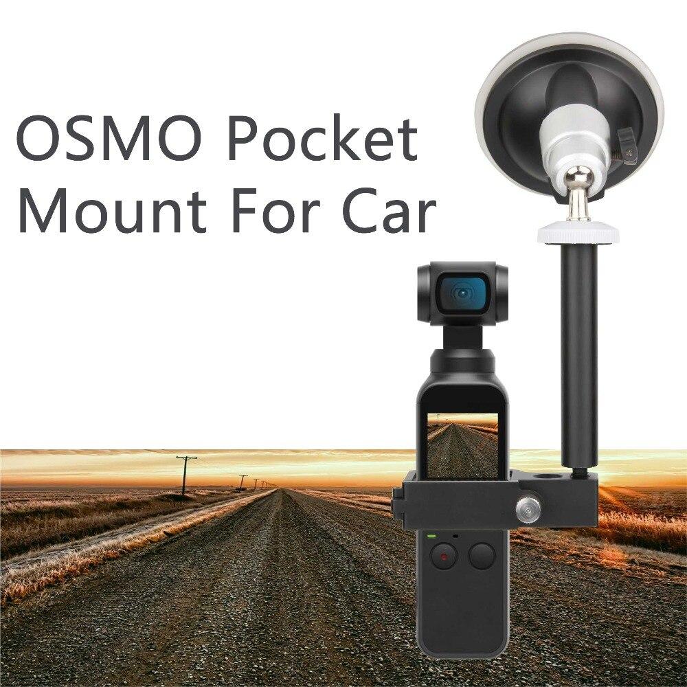 DJI Osmo bolsillo accesorio montaje módulo de ampliación para lechón del coche 4 K video de 3 ejes cardán