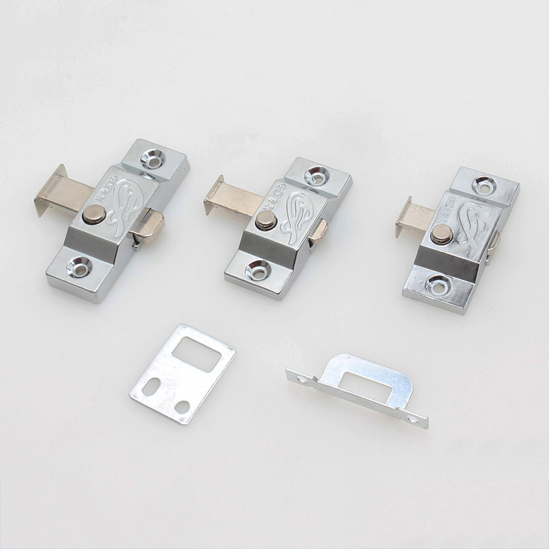 цены Metal Spring pin Automatic Furniture Bolt Door Window Cabinet Box Latch Drawer Cupboard Spring Lock Home Hardware