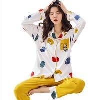 Maternity Clothes Maternity Sleepwear Breastfeeding Lounge Nursing Pajamas Pregnant Women Adjustable Pajamas Cotton