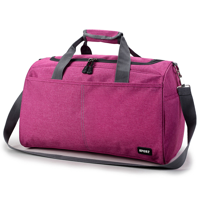Fashion Casual Travel Bag Duffle Bag For Women & Men Unisex Single Shoulder Strap Nylon Weekend Bag reistas bolsa de viagem