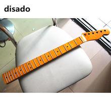 disado 21 22 24 Лада цельный Тигр пламя Клен электрическая гитара шея желтая Глянцевая краска гитарные партии аксессуары
