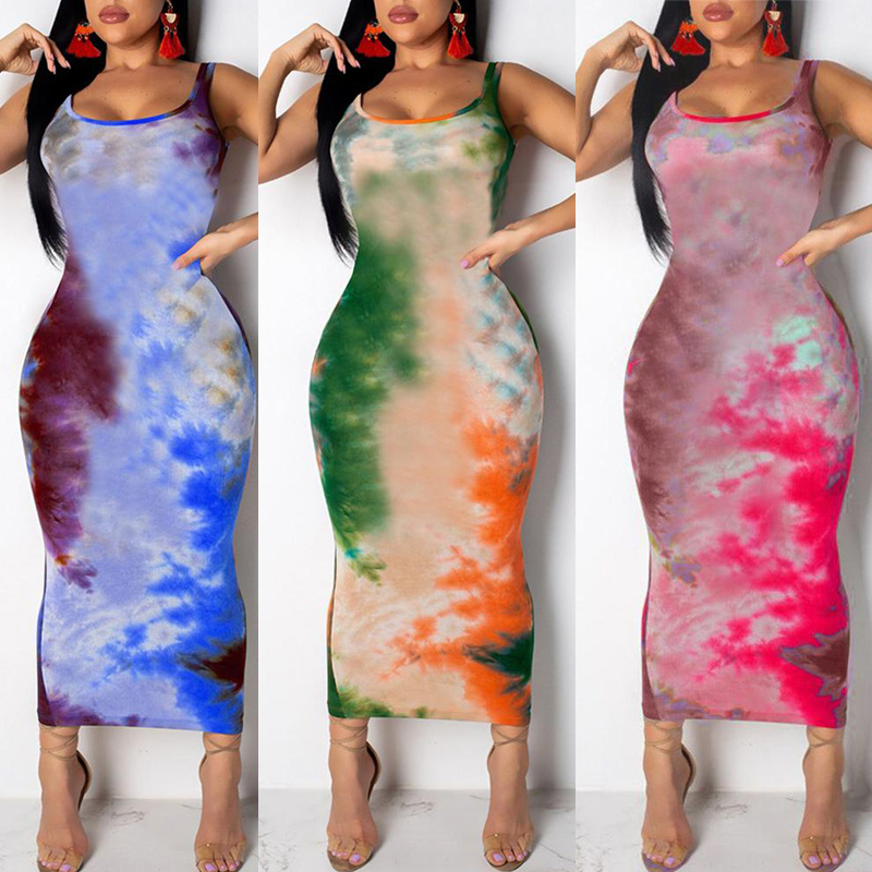 HTB1gI1VSr2pK1RjSZFsq6yNlXXa2 Women Graffiti Slim Fit Dress Ladies Girls Boho Long Maxi Dresses Evening Party Beach Bodycon Dresses Sundress