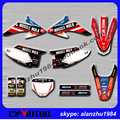 FREE SHIPPING CRF TRAIL 150 230 2008 2009 2012 2010 2011 2013 2014  MOTORCYCLE 3M GRAPHICS DECALS STICKERS SETS OFFROAD BIKE