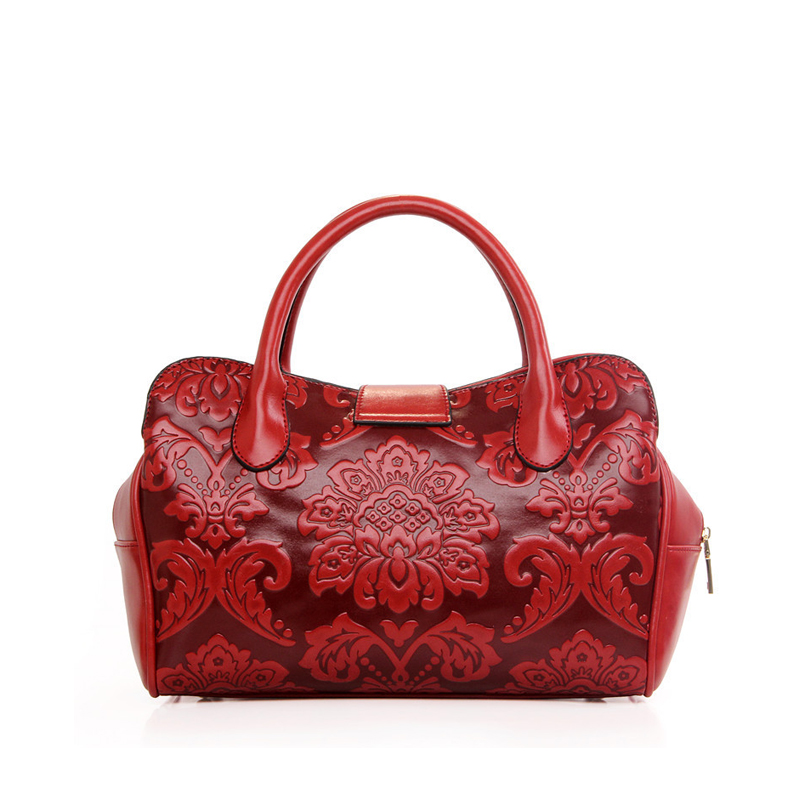 NEW 2019 Design Classic Hobos Tote Chinese Style Women PU Leather Handbags Ladies Messenger Bags For Female Bolsas an542