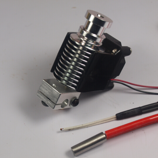 3 D printer parts Reprap all-metal direct hotend full kit/set for 1.75/3 mm filament top quality