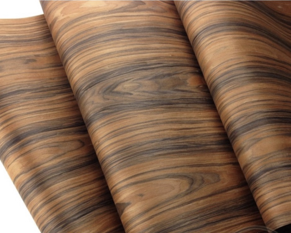 1Pieces L:2.5Meters Width:60cm Acid Twig Bark Wood Veneer Loudspeaker Shell Veneer Table Cabinet Decorative