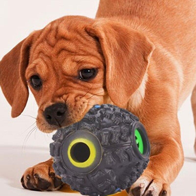 Adaptable Fashion Plastic Squeak Interactie Lekkende Voedsel Bal Hond Verveling Treat Training Chew Sound Speelgoed Auto Feed Dierbenodigdheden