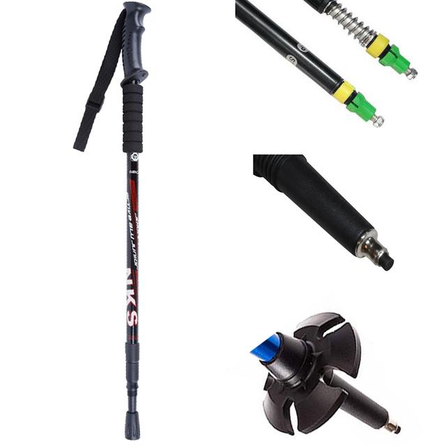 Anti Shock Telescopic Walking Sticks