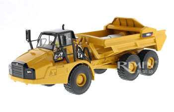 DM 1:50 Caterpillar CAT 740B EJ Articulated Truck/Dump Truck Engineering Machinery Diecast Toy Model 85500 Collection,Decoration