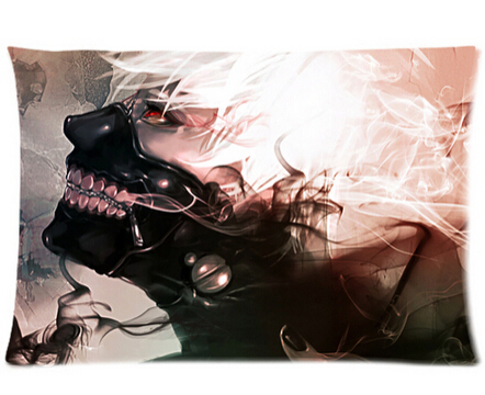 LUQI Solid pillowslips Tokyo Ghoul with Mask pillow covers bedding comfortable cheap/good quality pillowcases