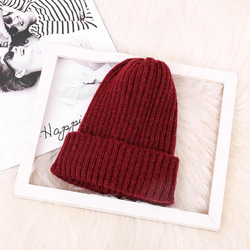 Мода мохер для мужчин и женщин, керлинг вязаная шапка для отдыха на открытом воздухе Для мальчиков и девочек девочки ветрозащитный Теплый шерстяной трикотажный головной убор