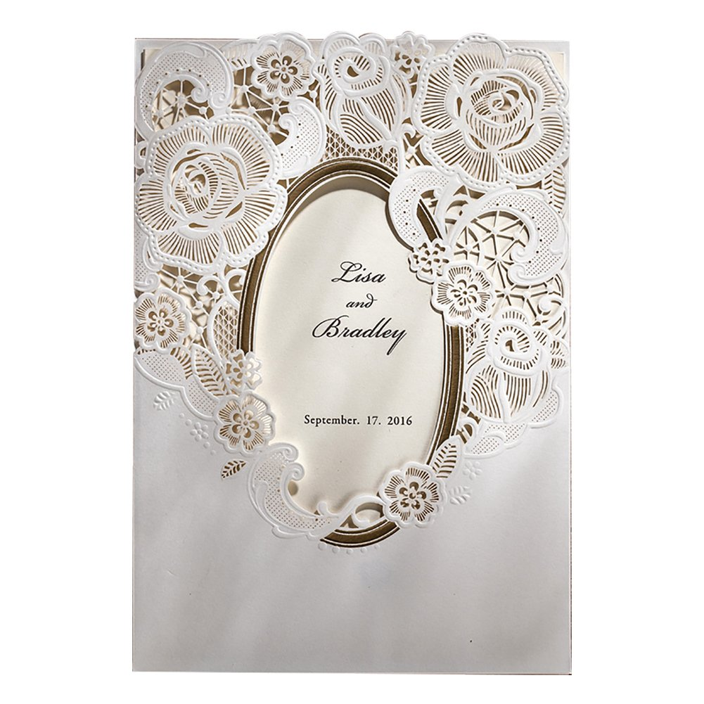 Wishmade 1 Sample Blank Printable Laser Cut Wedding