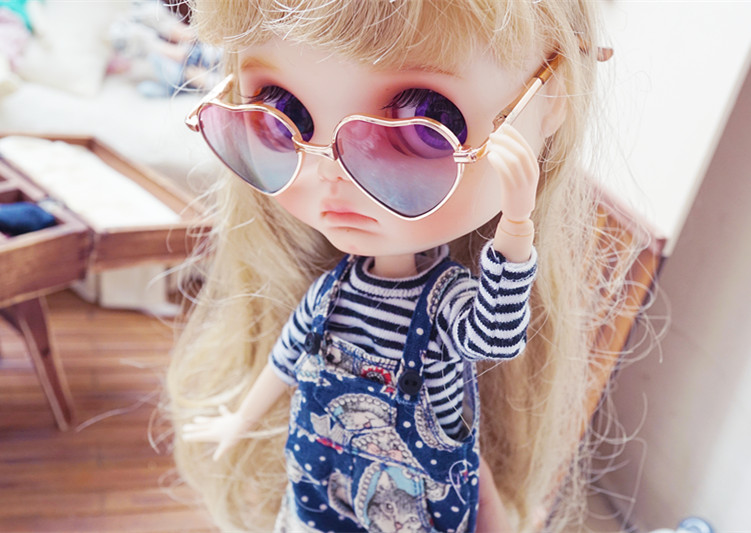 Doll Glasses Colorful Glasses Sunglasses Suitable For 18Inch American Dolls TS.