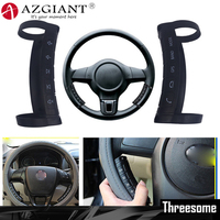 AZGIANT Wireless Car Steering Wheel Button Remote Control Helpful to Keep Safety for Your Driving Easy Installation and Removal