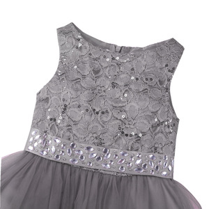 Image 5 - Iiniim 2 14 שנים לדדות תלבושות טוטו תינוק בנות פרח רשת תחרה שמלת מסיבת יום הולדת נסיכת שמלת ילדים הקודש שמלות