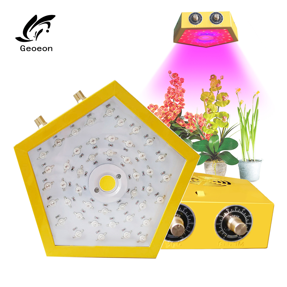 Geoeon 2019 New 1000W led plant flower lamp dimmable Indoor full spectrum led  LED Plant All Stage grow light-in Growing Lamps from Lights & Lighting    1